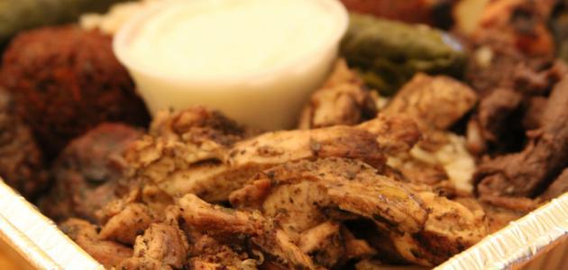 شاورما دجاج بالفرن