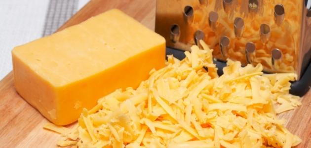طريقة عمل الجبنة الشيدر