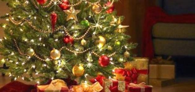 شجرة عيد الميلاد المجيد