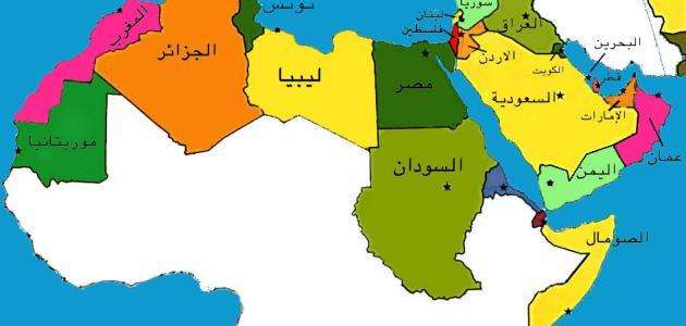 دول العالم العربي موضوع