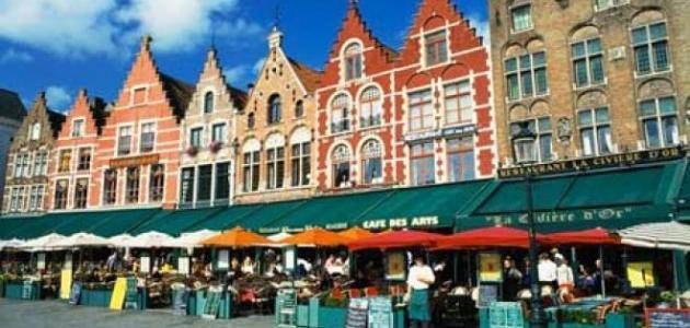 مدينة بروج البلجيكية