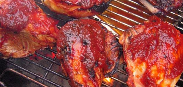 السعرات الحرارية في صدور الدجاج