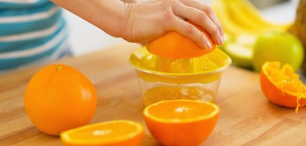 فوائد عصير البرتقال للرجيم