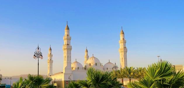 معلومات عن مسجد قباء