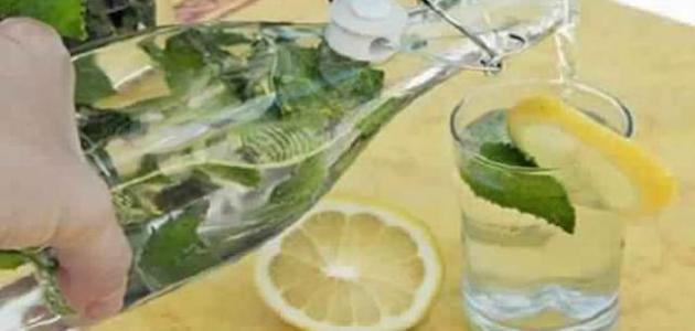 فوائد الليمون والماء على الريق