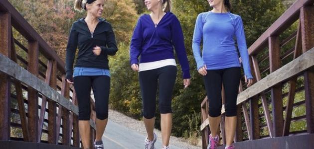فوائد المشي الحياة