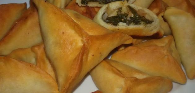 طريقة عمل فطائر السبانخ السورية
