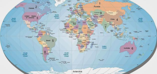 كم تبلغ مساحة الهند