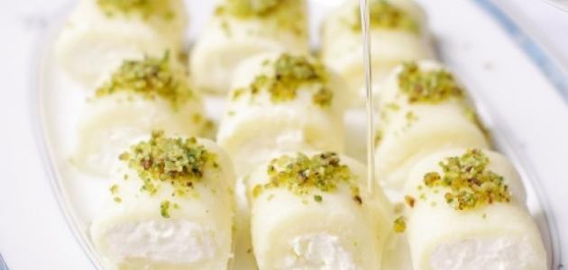 طريقة عمل حلاوة الجبن اللبنانية موضوع