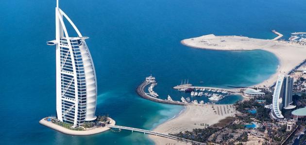 جزيرة اصطناعية تقع في الكويت