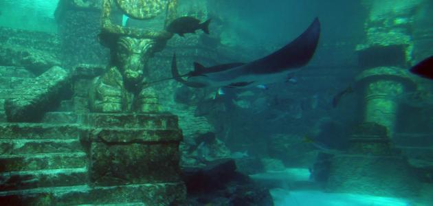 مدينة تحت الماء