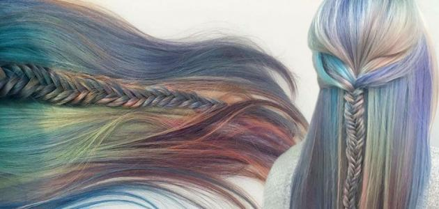 طريقة تلوين الشعر
