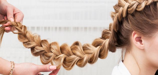 كيفية ضفر الشعر