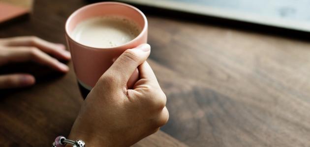 طريقة الحليب بالزنجبيل