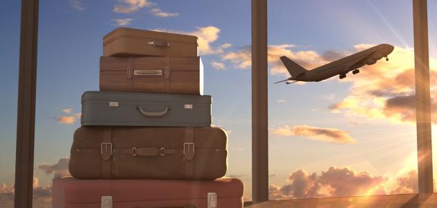 حقيبة السفر في المنام