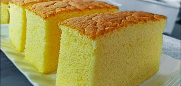 طريقة الكيكة الذهبية