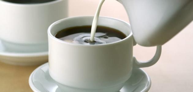طريقة عمل قهوة بالحليب