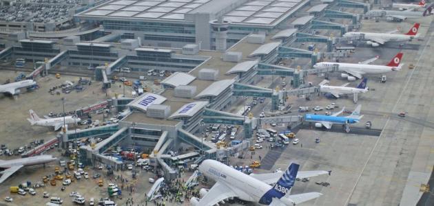 المطارات الدولية في تركيا
