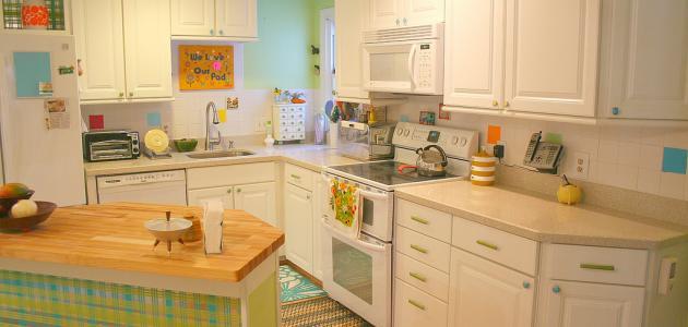 افكار لتزيين المطبخ