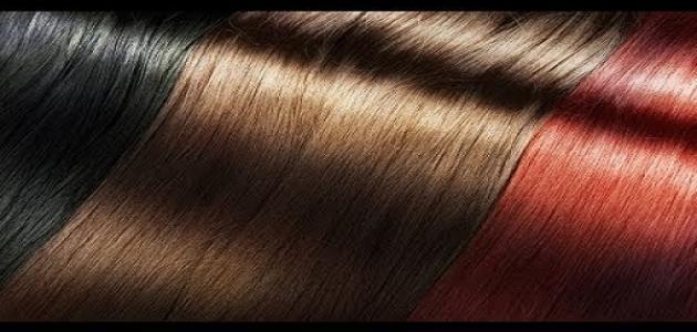 صبغ الشعر بطريقة طبيعية