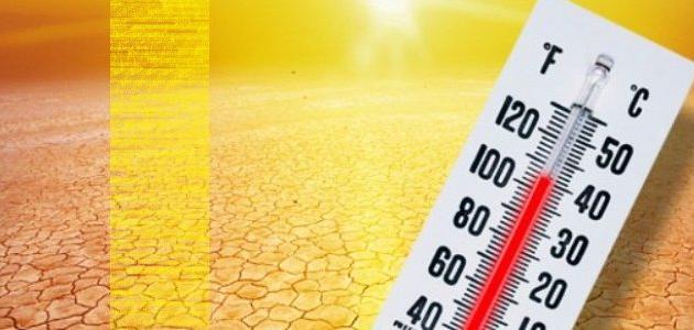 الفرق بين الحرارة ودرجة الحرارة
