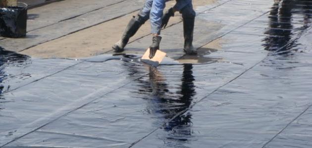 طريقة عزل الأسطح