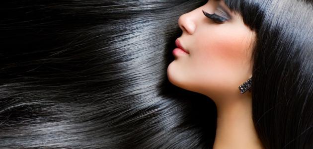 طريقة تنعيم الشعر بالنشا