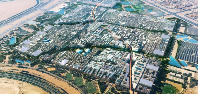 مدينة مصدر في أبو ظبي