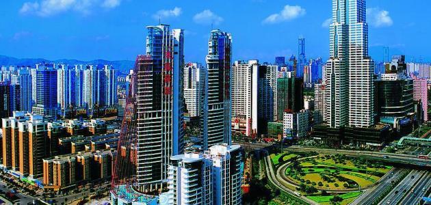 مدن الصين