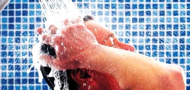 حكم غسل الجمعة