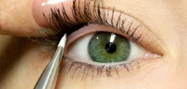 طريقة كحل العين