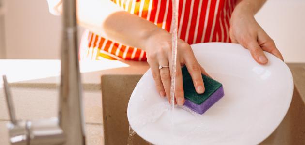 طريقة عمل الصابون السائل لغسيل الأطباق
