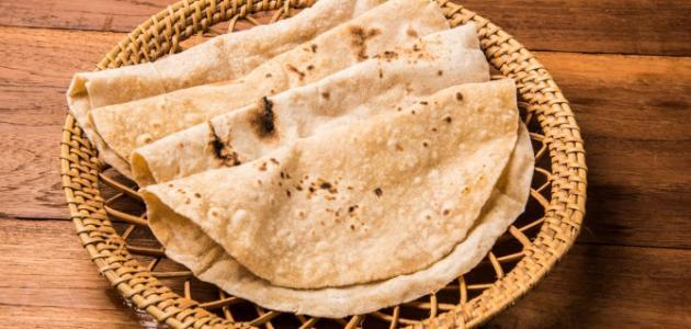 عمل الخبز الهندي
