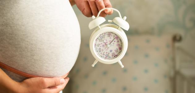 علامات تدل على قرب الولادة