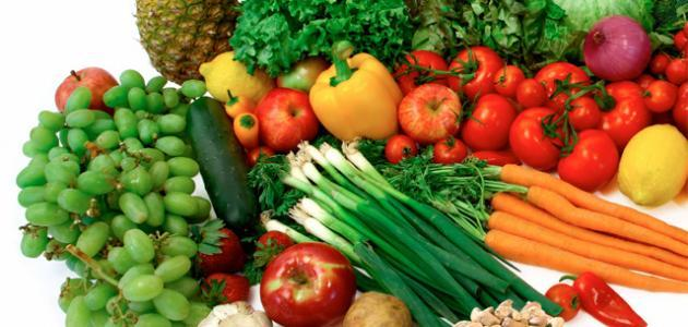 فوائد الفواكه والخضروات بشكل عام