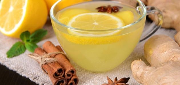 فوائد الزنجبيل مع الشاي الأخضر للتنحيف