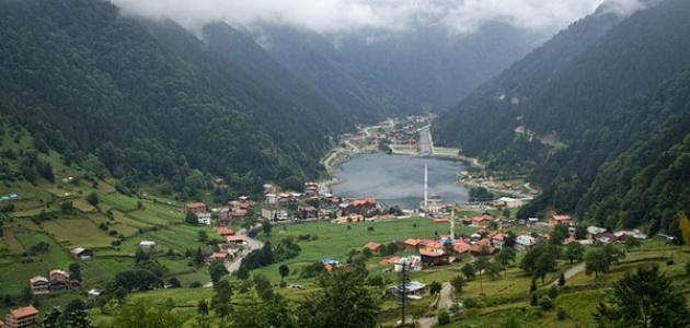 قرية أوزنجول في تركيا