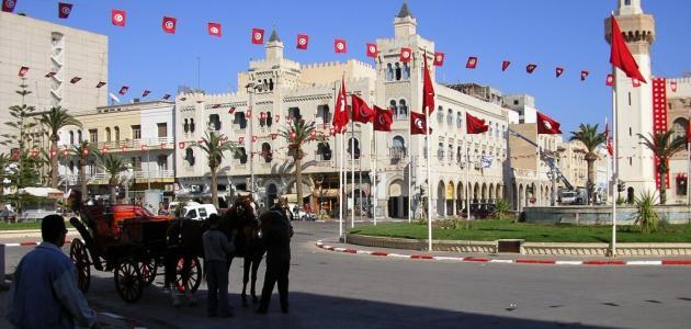 مدن تونسية