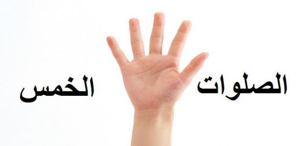 عدد ركعات الصلوات الخمسة