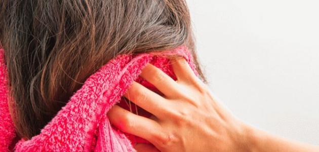 فوائد الخل للشعر الجاف