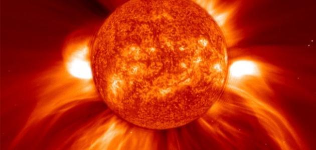 كم درجة حرارة الشمس