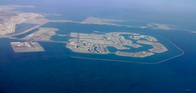 كم عدد جزر البحرين