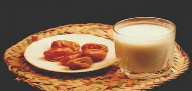 فوائد التمر والحليب للأطفال
