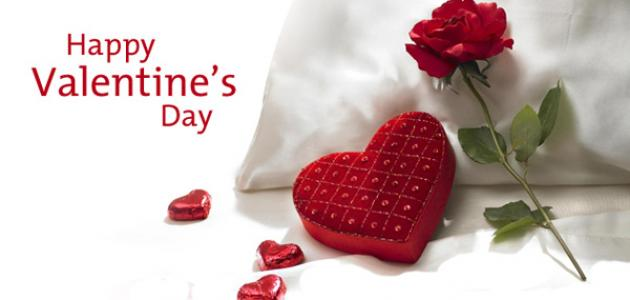 في أي شهر عيد الحب