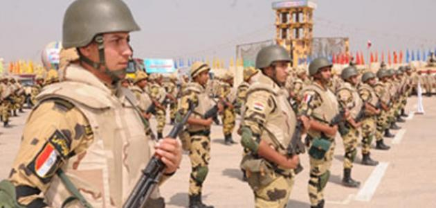 كم يبلغ عدد الجيش المصري