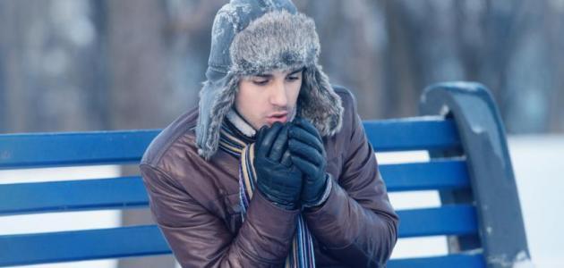 فوائد البرد
