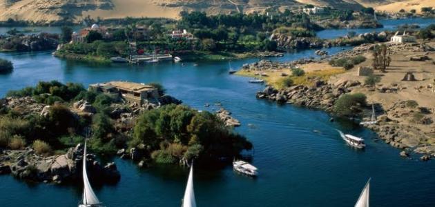 تعبير عن نهر النيل