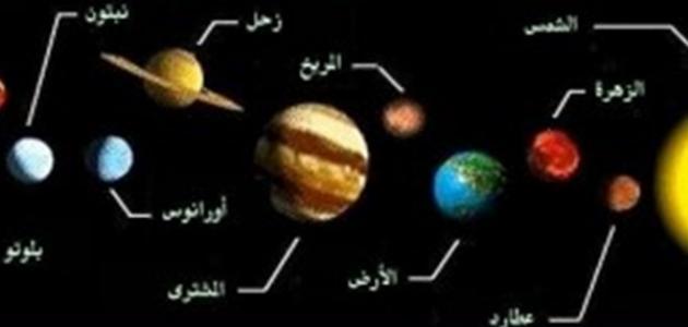 عدد الأقمار في المجموعة الشمسية