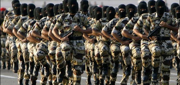 كم عدد جيش السعودية