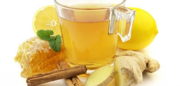 طريقة شاي الزنجبيل
